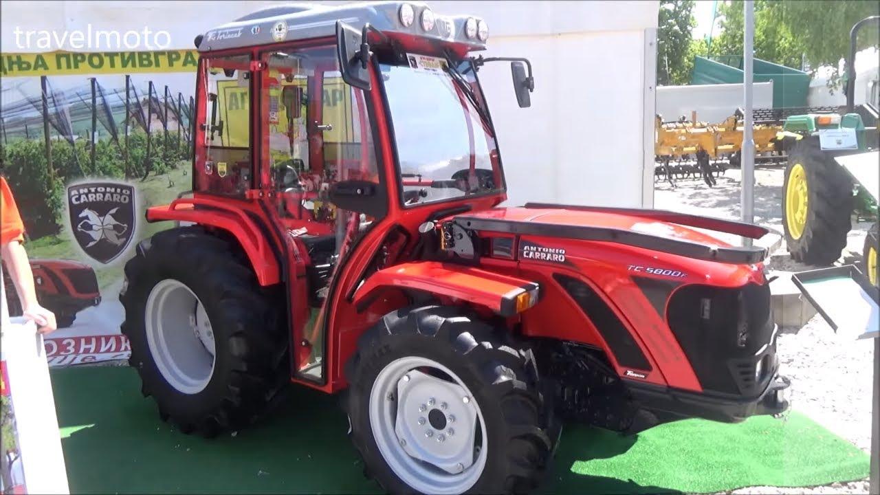 ANTONIO CARRARO tractors 2018 - YouTube