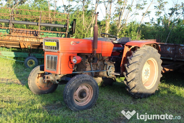 Tractor utb universal fiat 550, 55 cp, motor aro brasov, 4 ...