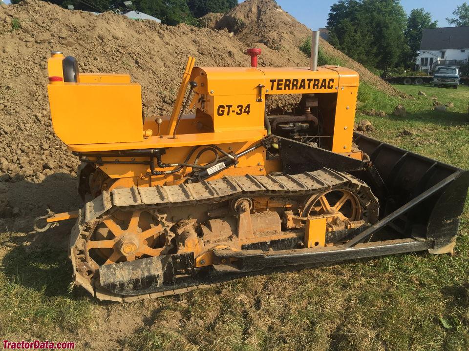 TractorData.com ATC Terratrac GT-34 tractor photos information