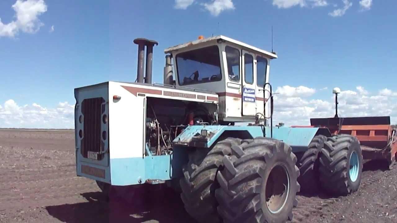 Baldwin DP 600 With 16ft Friggstad Bucket @ Work - YouTube
