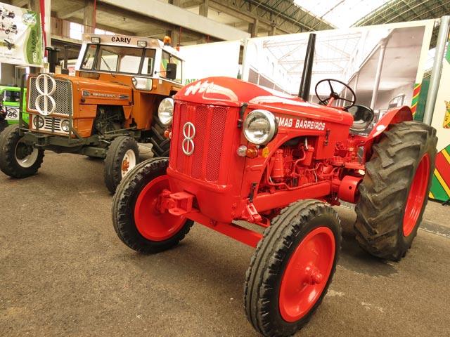 Alma de herrero: Tractor Barreiros R350
