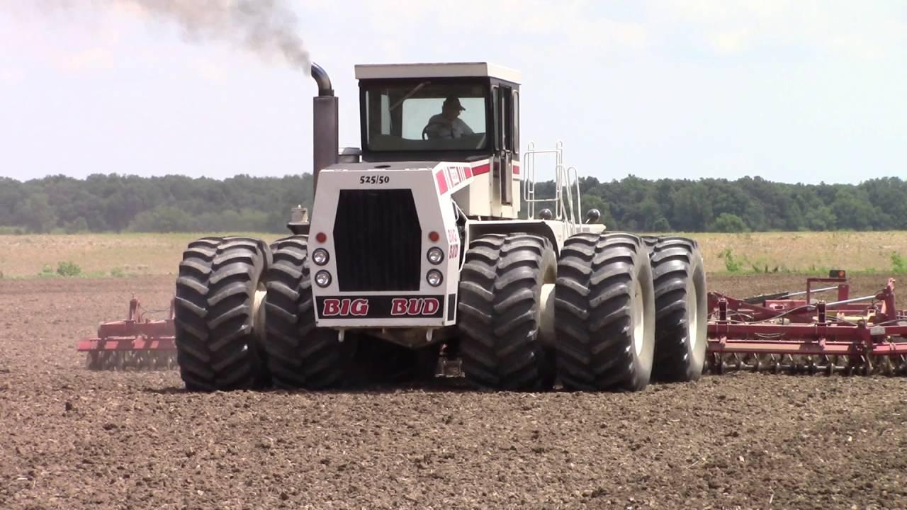 525 hp Big Bud 525/50 4wd Tractor - YouTube