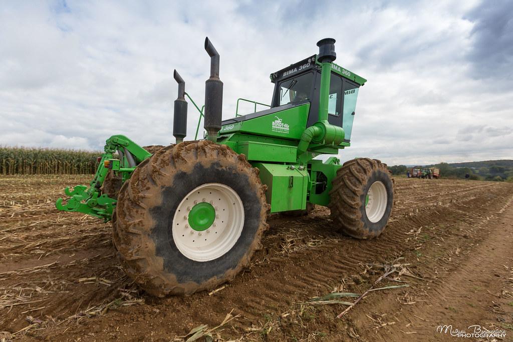 BIMA 360 4WD tractor - Deutz V8 470 hp   Mathieu ...