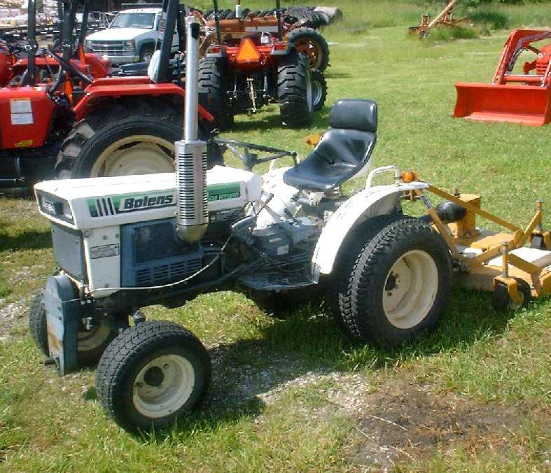 bolens tractor