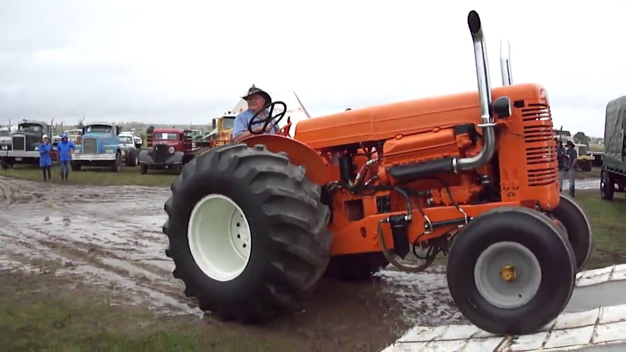Chamberlain Tractor with 8V71 Detriot Diesel - YouTube