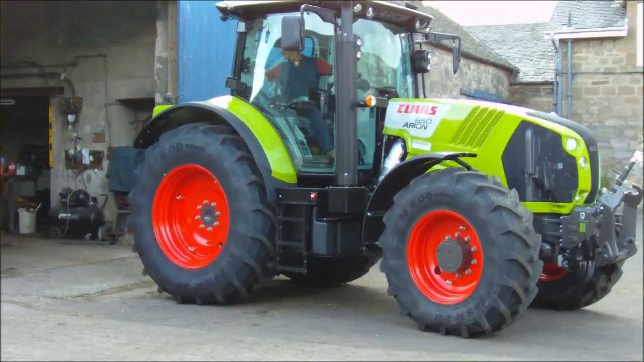 Claas 650 Arion Tractor Brand New! - YouTube