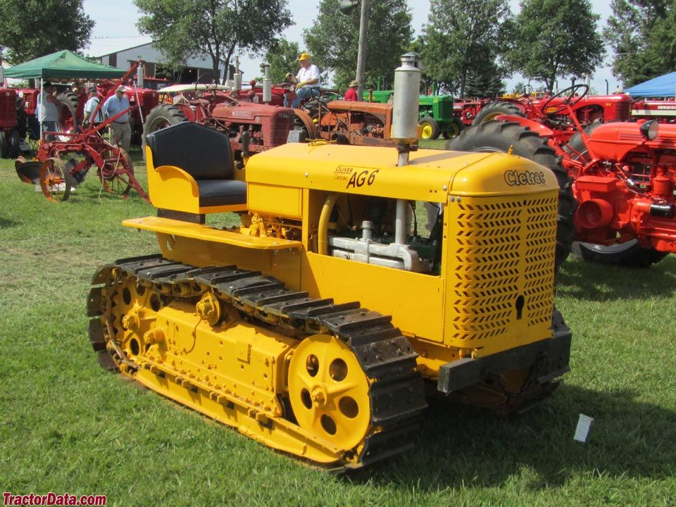 Cletrac AG-6   Tractors, Tractor photos, Crawler tractor