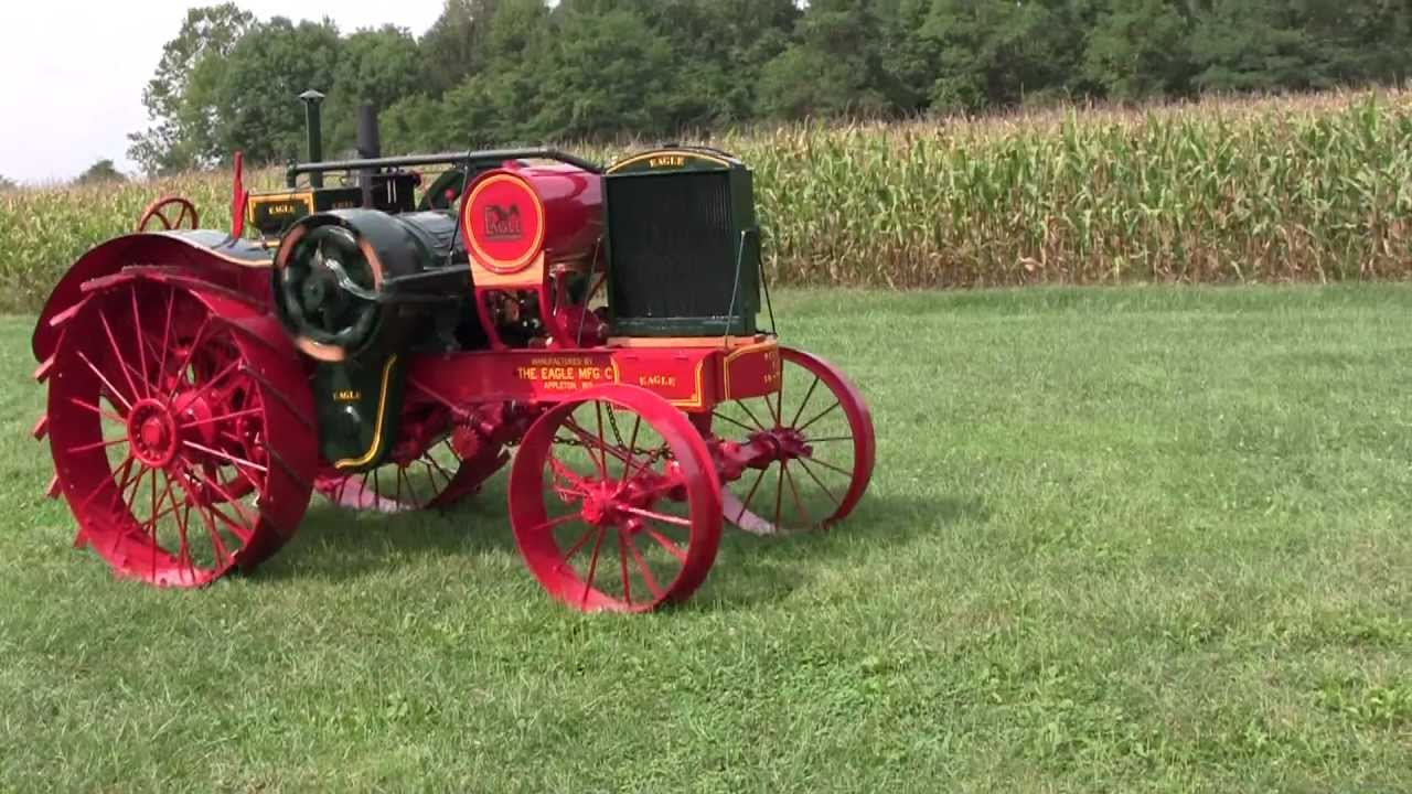 1920 16-30 Eagle Tractor Ready to Go Home - YouTube