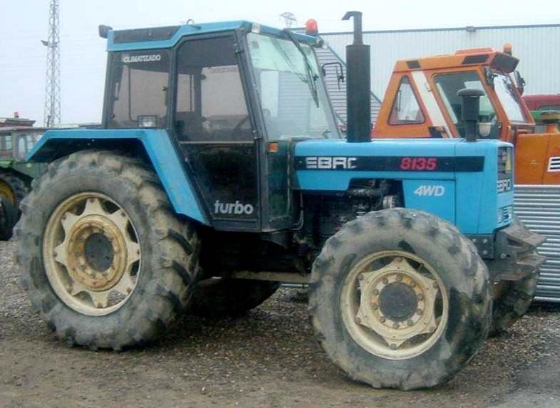 Ebro 8135 | Tractor & Construction Plant Wiki | FANDOM ...
