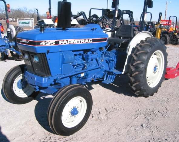 Farmtrac 435   Tractor & Construction Plant Wiki   Fandom ...
