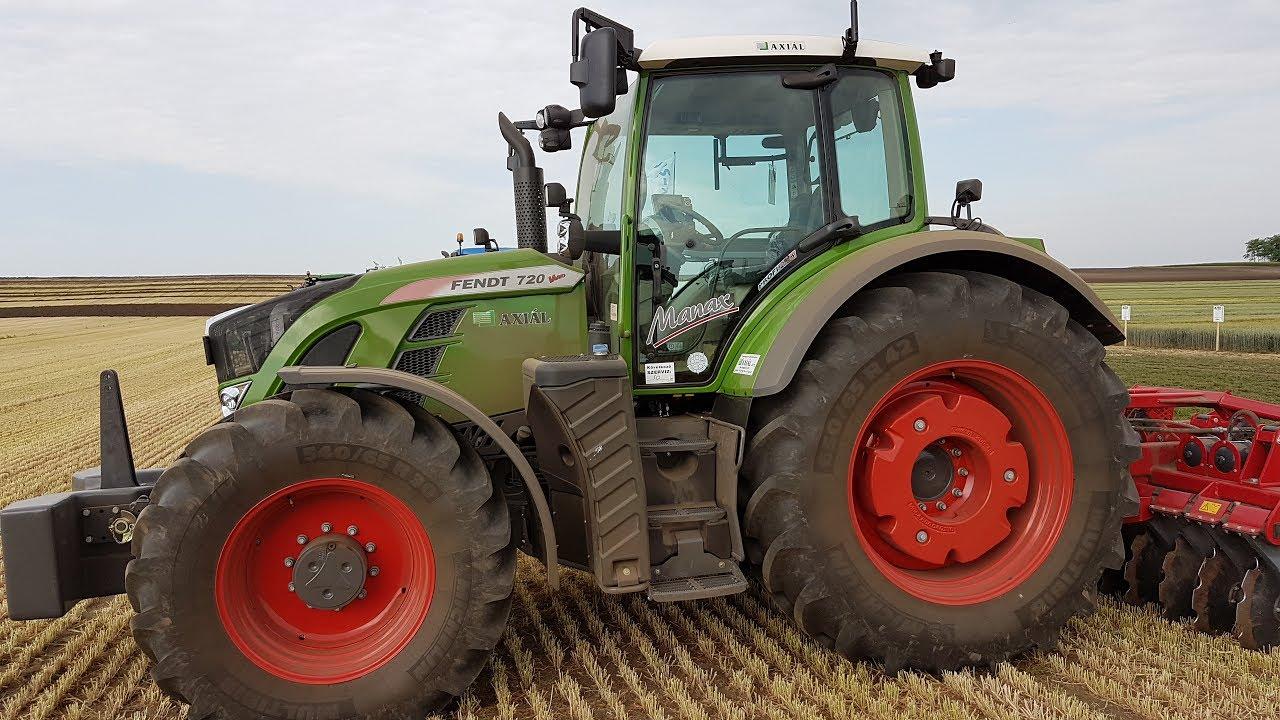 Fendt 720 vario tractor 2017 - YouTube