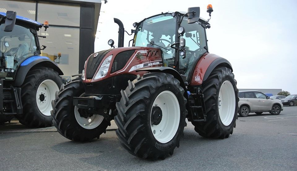 Brand new 'Fiat' tractor lands in Ireland...in the ...