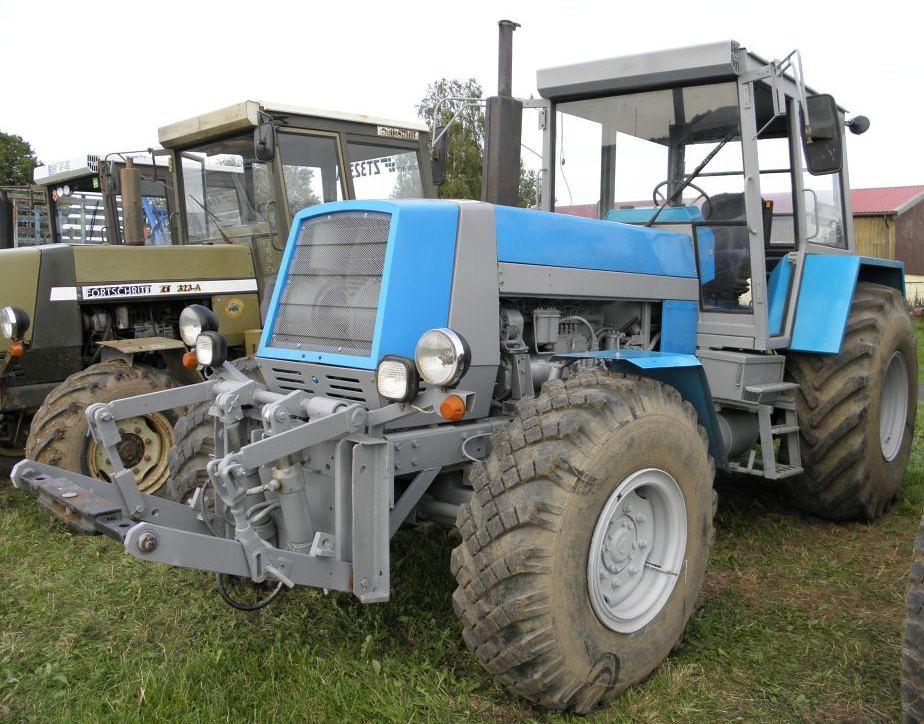 DDR Tractor. Fortschritt.   DDR traktor Fortschritt   Flickr