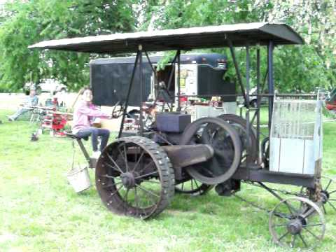 5HP Galloway Tractor - YouTube
