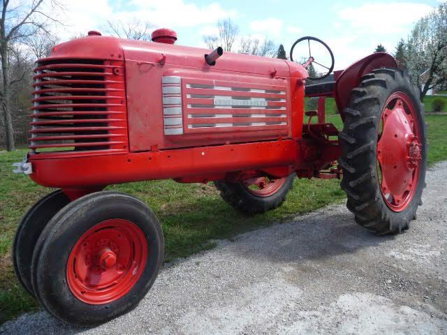1937 Graham Bradley Tractor - Current price: $4600