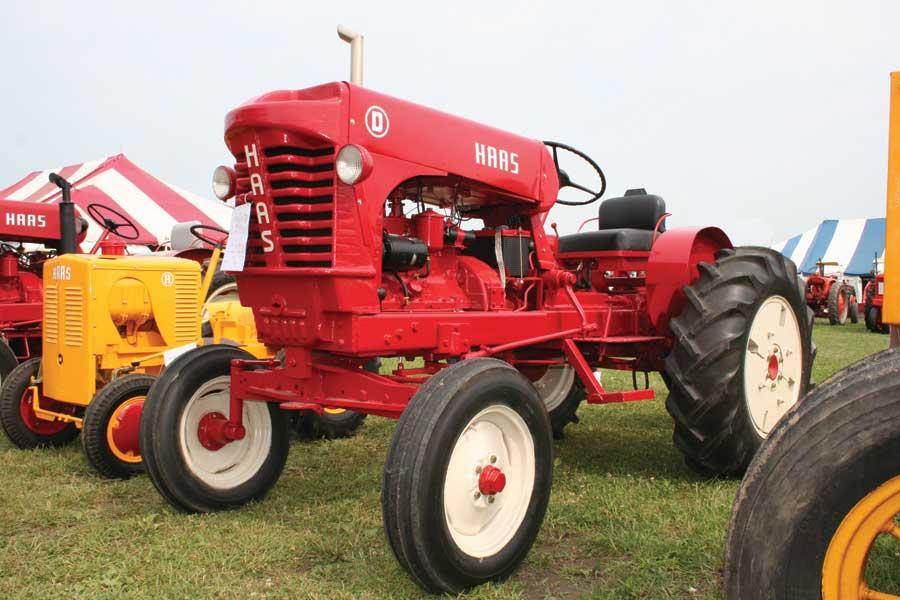 haas tractor