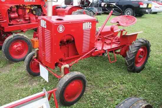 The Elusive Haas Tractor