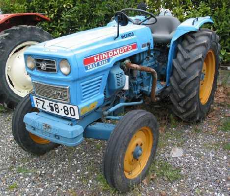 hinomoto tractor