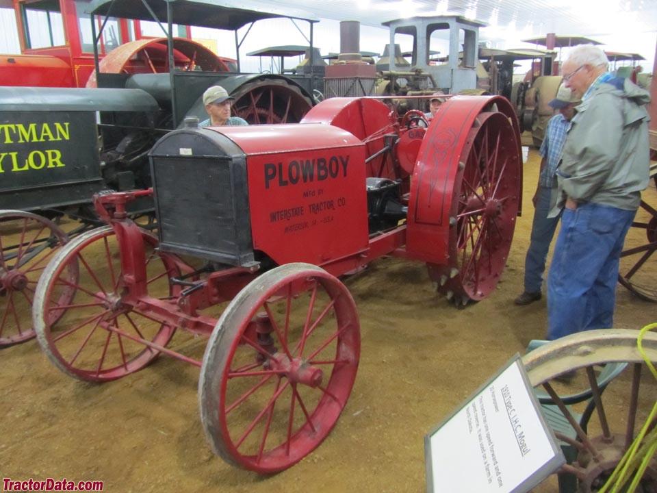TractorData.com Interstate Tractor Plow Boy 10-20 tractor ...