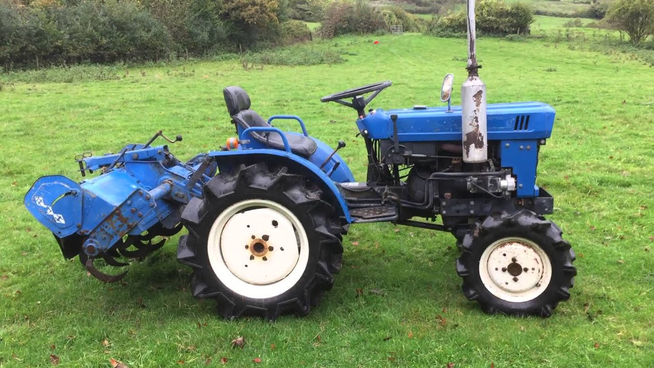 Iseki TX1500 4WD Compact Tractor with Rotavator FOR SALE ...