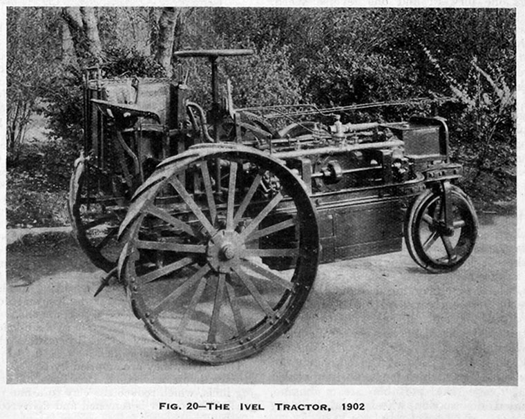 ivel agricultural motors tractor