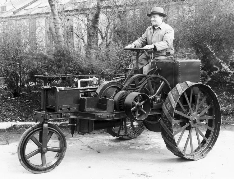 The Ivel Agricultural Tractor | Science Museum Group ...