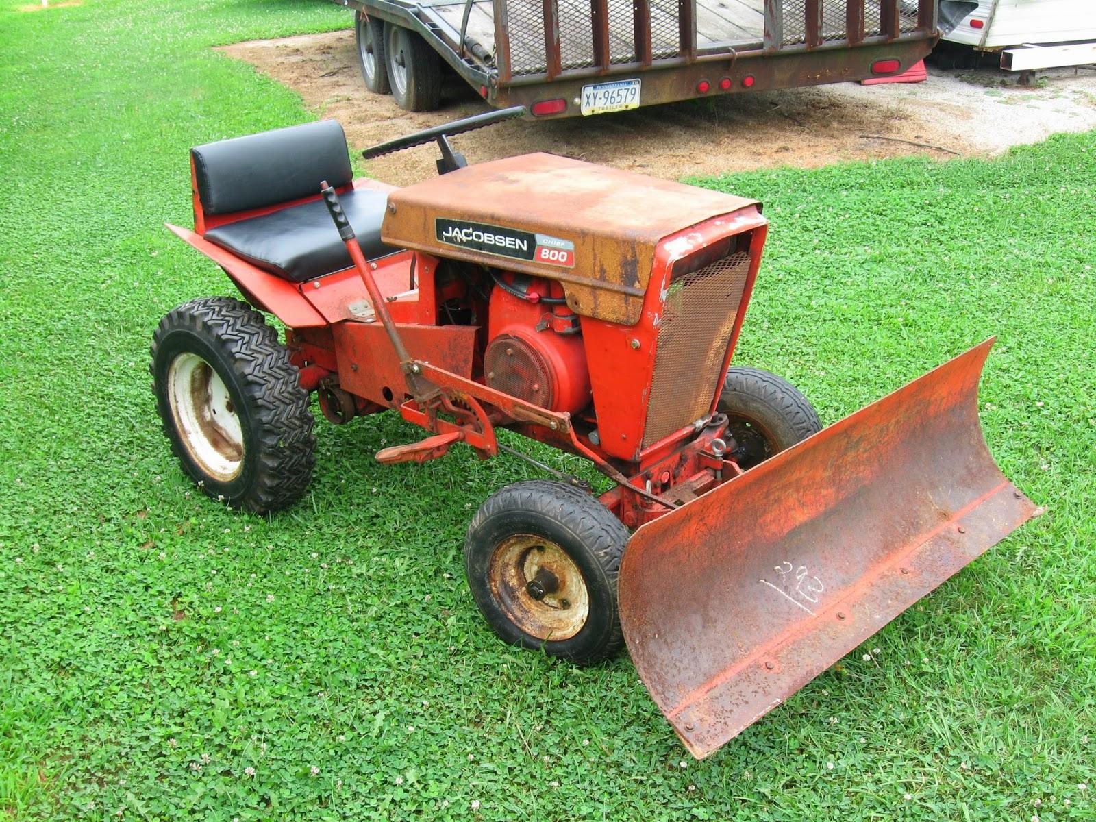 Jacobsen Chief GArden Tractors