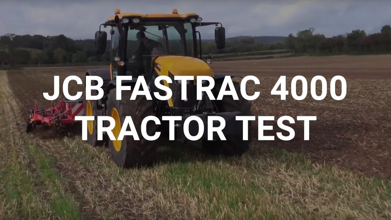 jcb fastrac tractor
