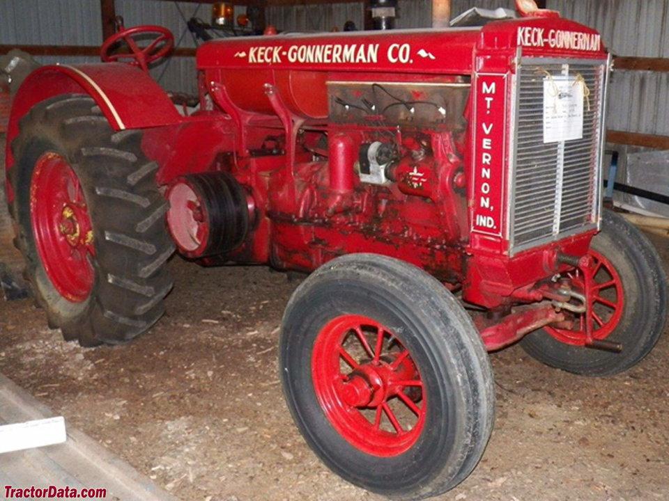 keck gonnerman tractor
