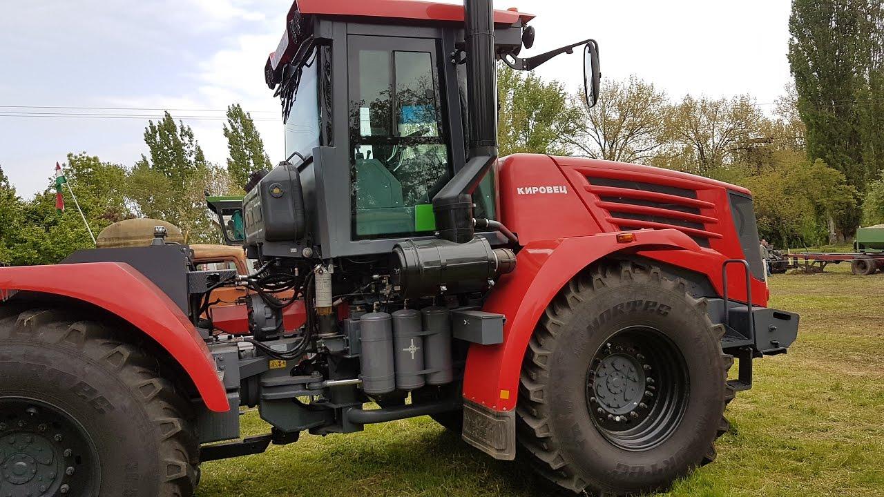 Kirovets Кировец tractor 2017 (mercedes-benz engine) - YouTube