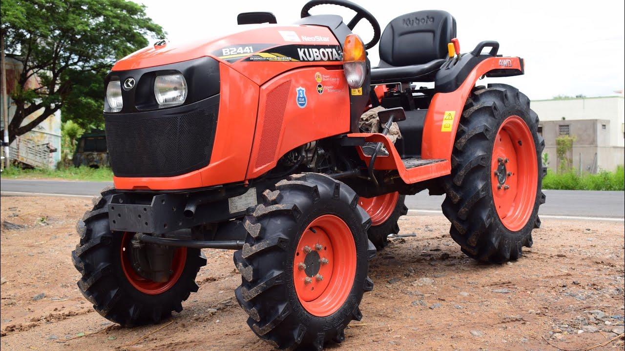 Kubota NeoStar B2441 / 4WD 24HP mini tractor / New Kubota ...
