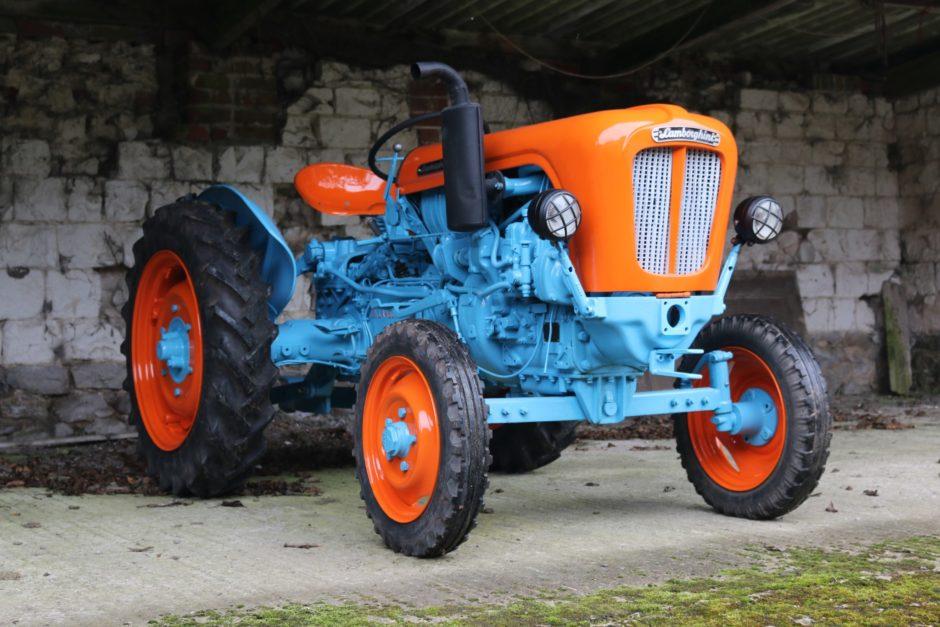 No Reserve: 1960 Lamborghini Lamborghinetta Tractor for ...
