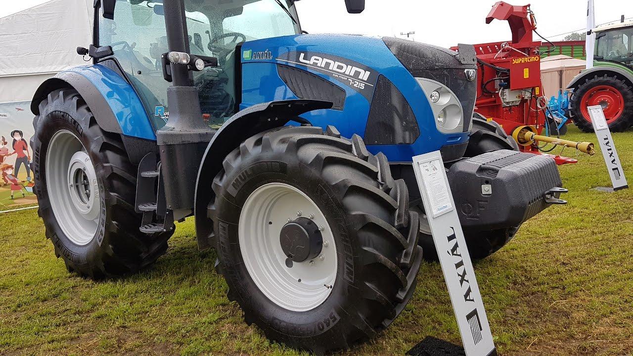 Landini tractor 2017 - YouTube
