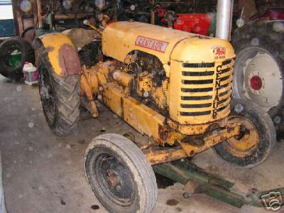 Tractor le roi centaur needs restoration runs