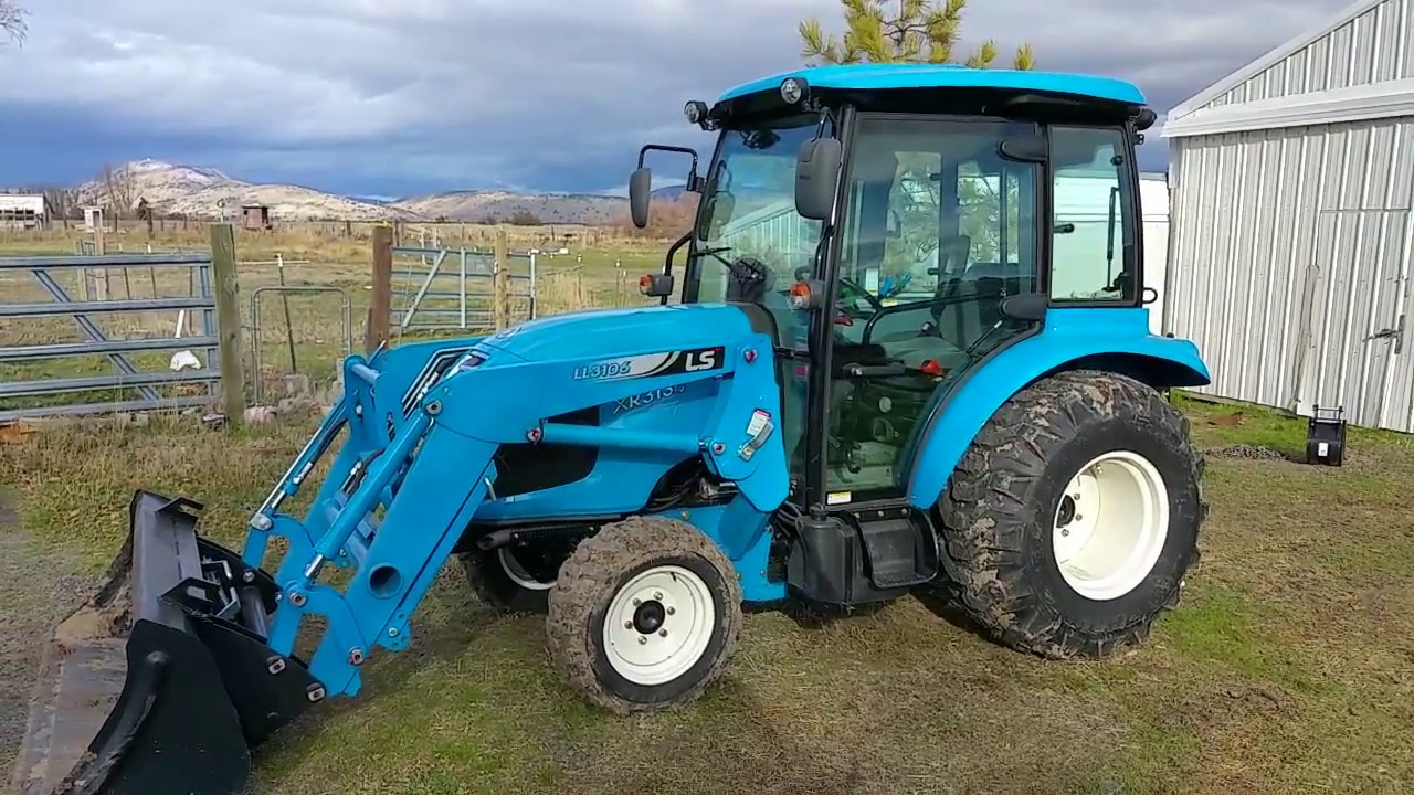 About my new LS Tractor XR3135C - YouTube