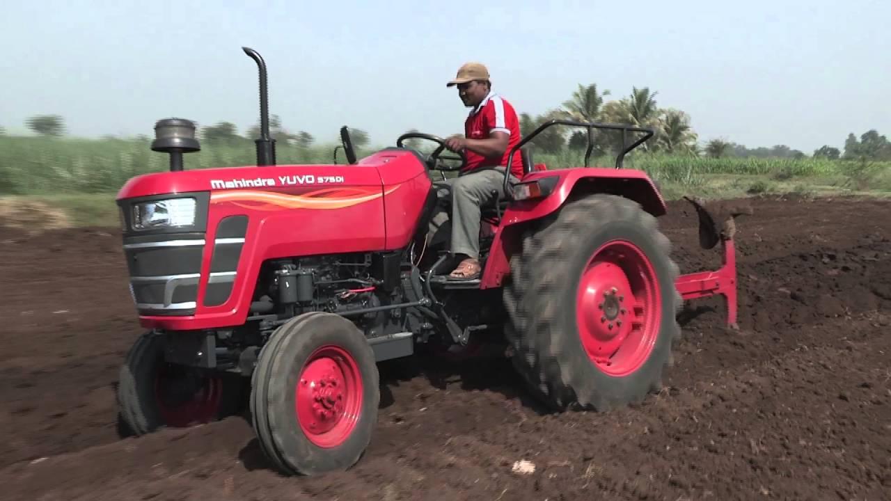 Mahindra Tractors - Mahindra Yuvo - Reversible MBP (Hindi ...