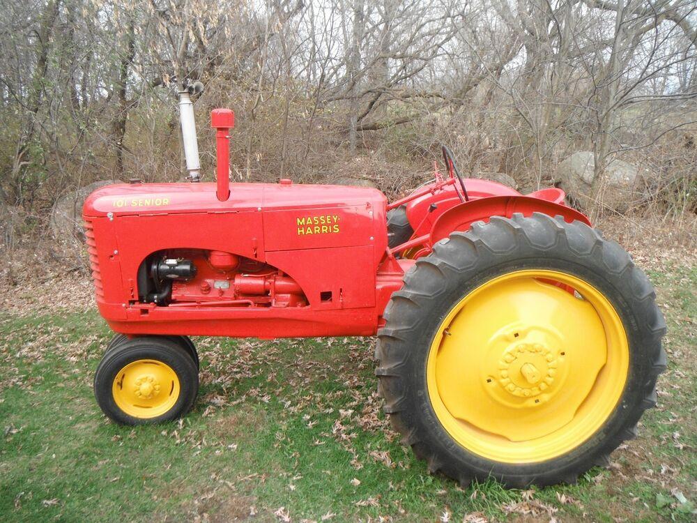 massey harris tractor