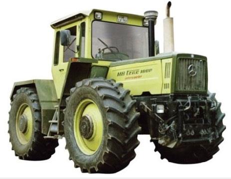 mercedes benz tractor