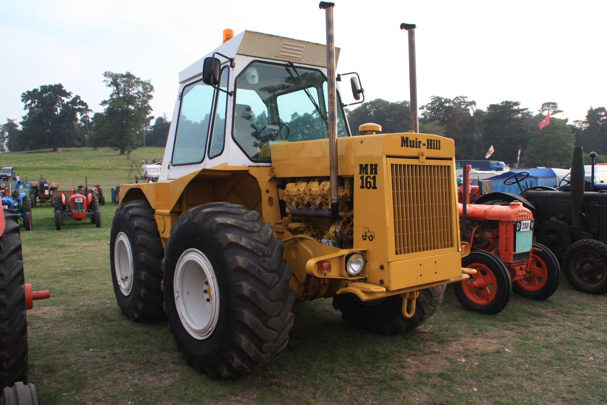 Muir-Hill 161 | Tractor & Construction Plant Wiki | FANDOM ...
