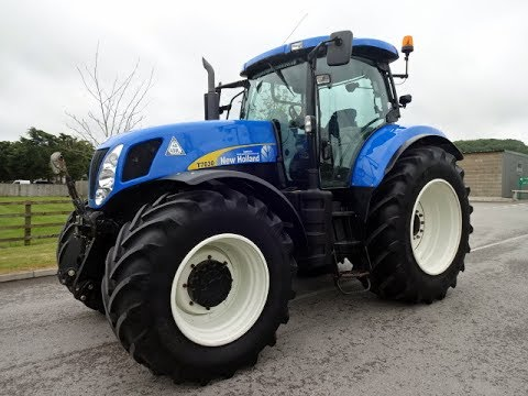 New Holland T7030 Tractor - YouTube