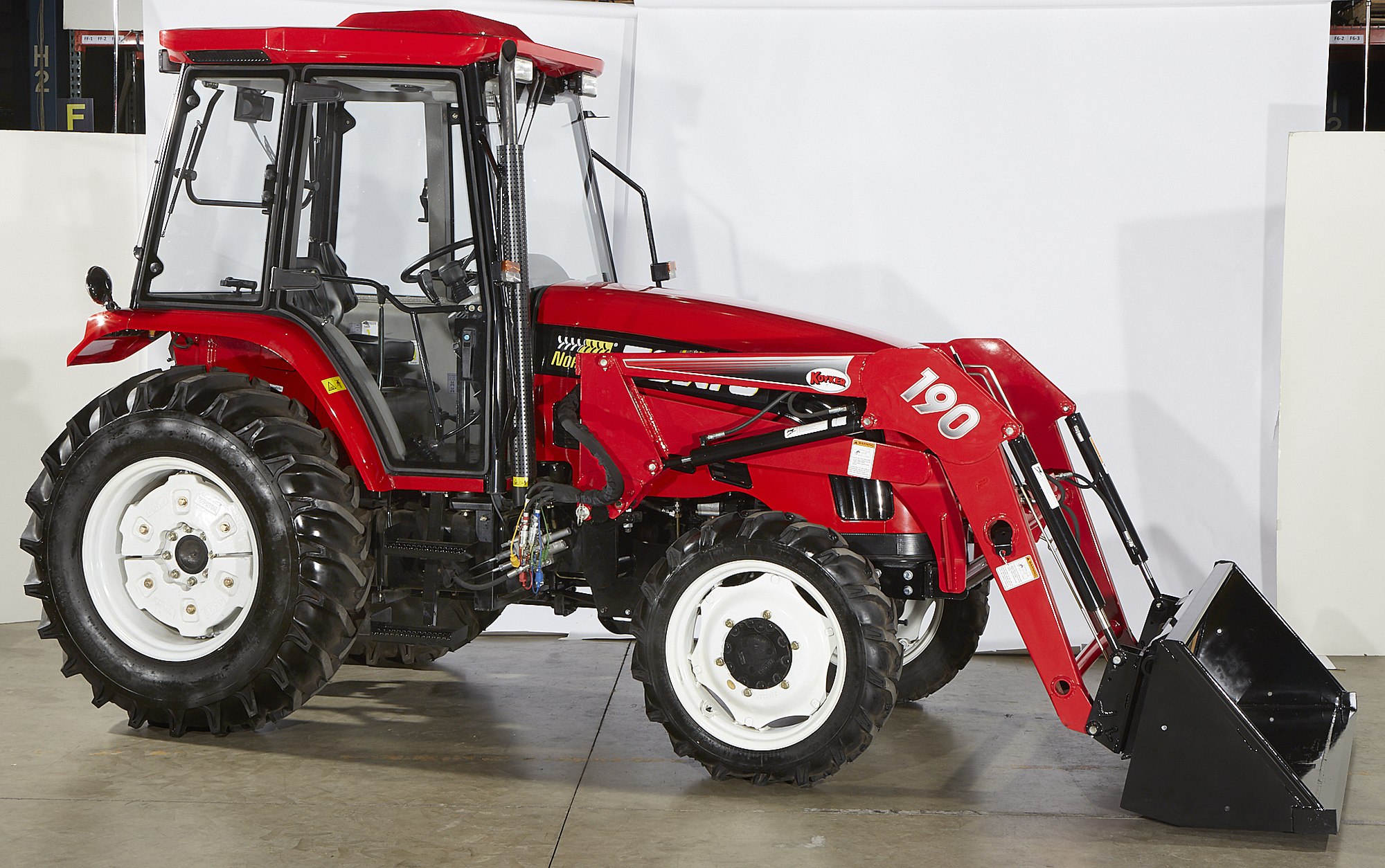 Certified Pre-Owned — NorTrac 70XTC 70 HP 4WD Tractor with ...