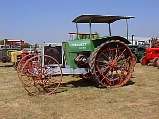 parrett tractor