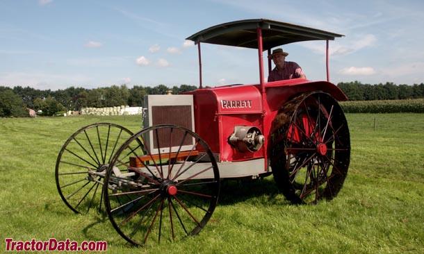 TractorData.com Parrett E 10-20 tractor photos information