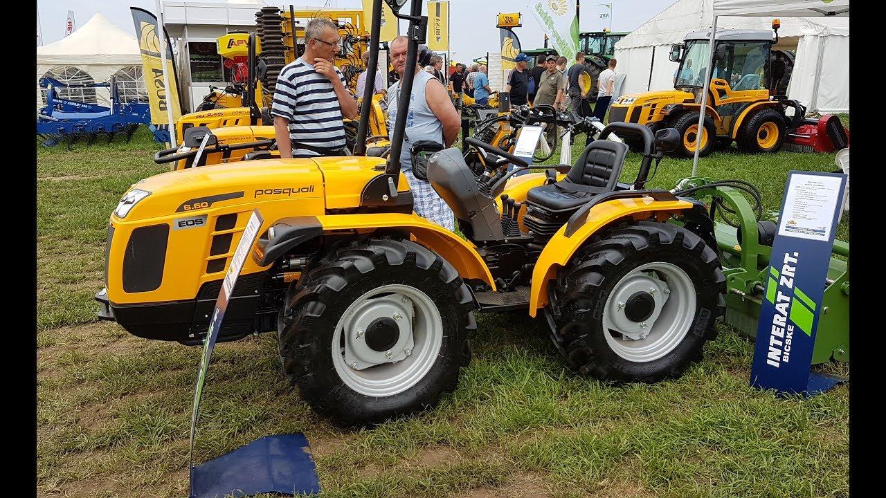 pasquali tractors 2017 - YouTube