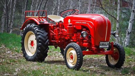 1963 Porsche Diesel Standard Model 217 Tractor - Sports ...