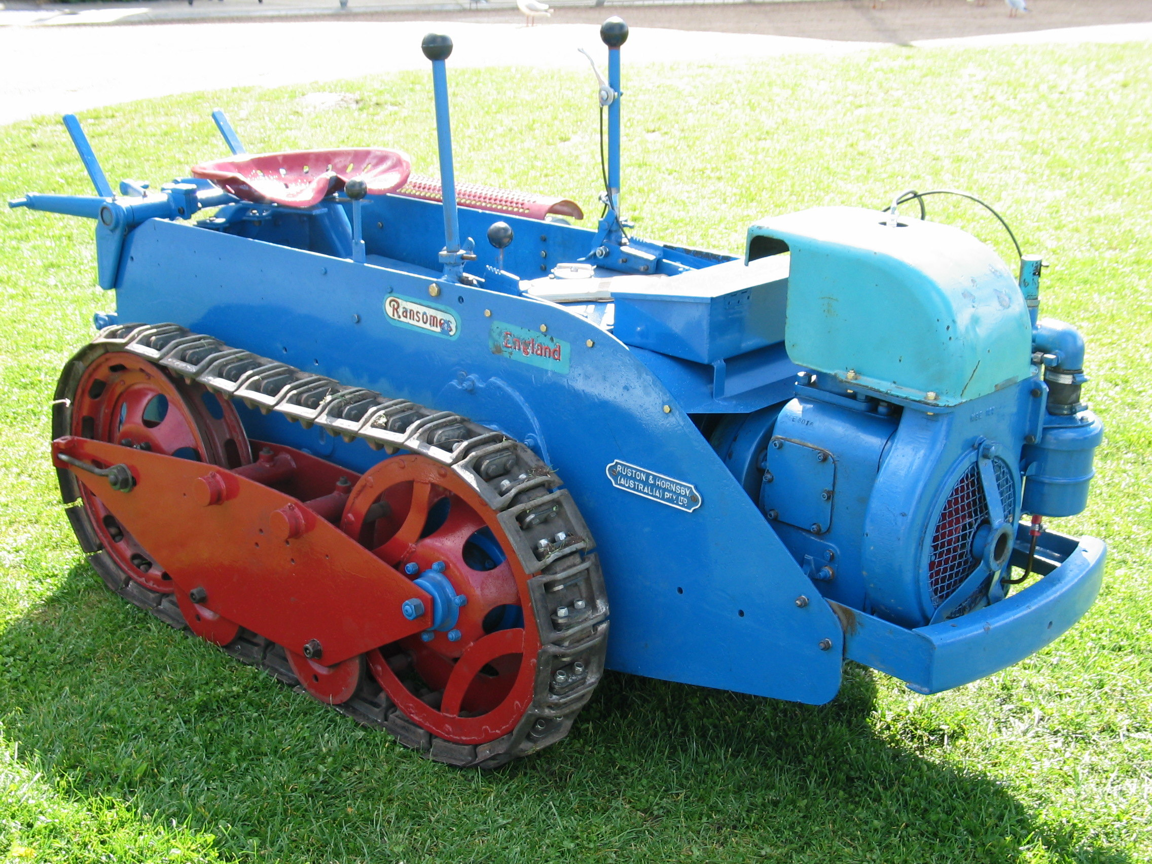 ransomes tractor