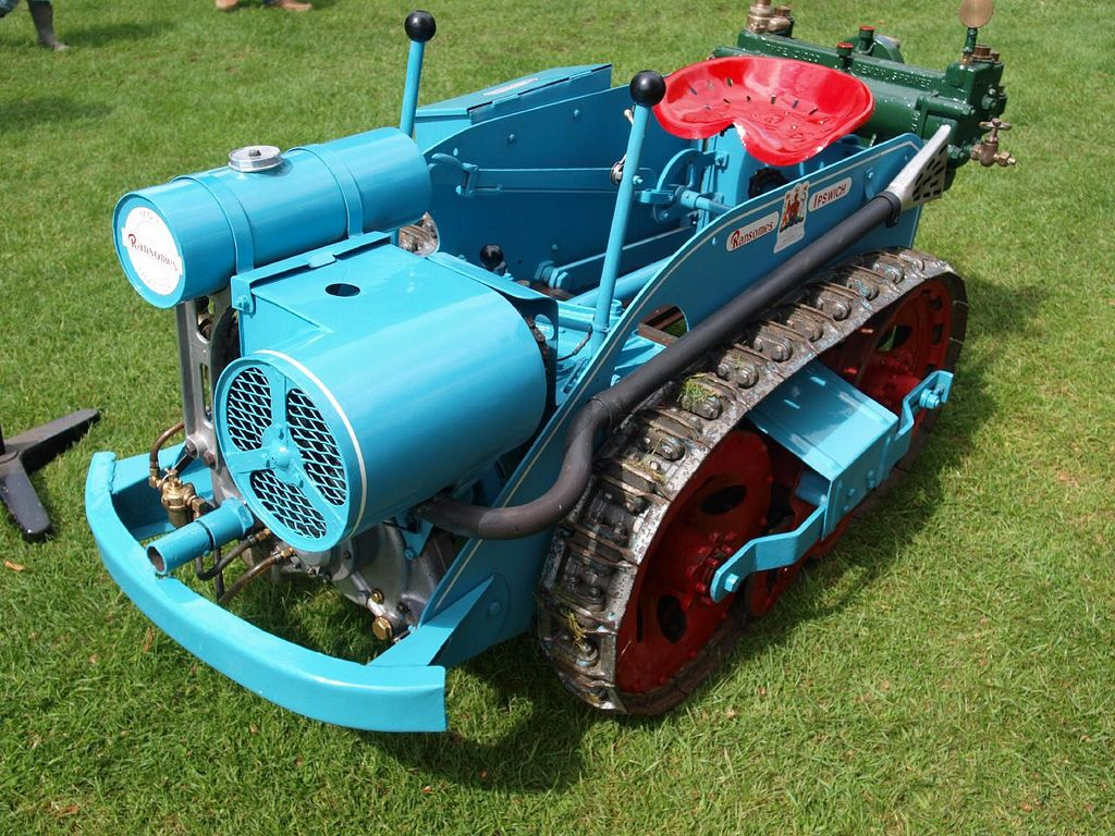 Ransomes MG2 Tractors - 1945 | Antique tractors, Small ...