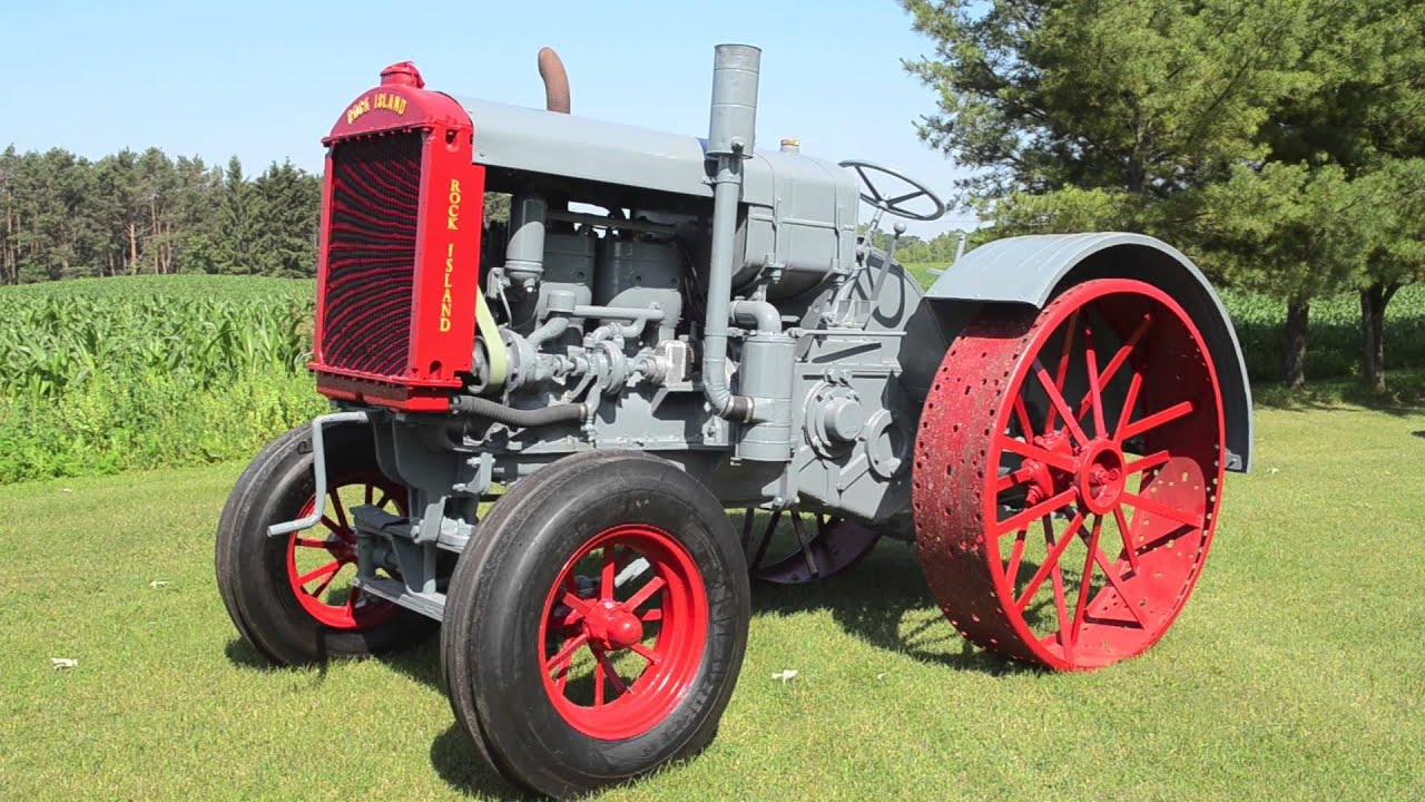 1933 Rock Island Model H3 Tractor - The Ed Westen Tractor ...