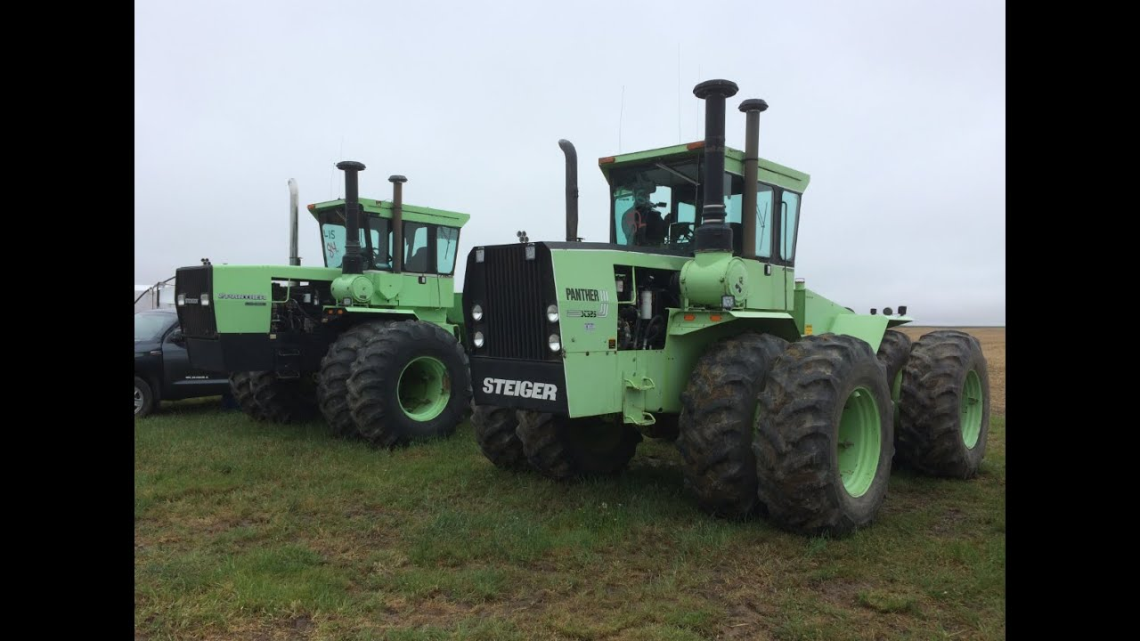 Pair of Steiger Tractors Sold on Montana Farm Auction ...