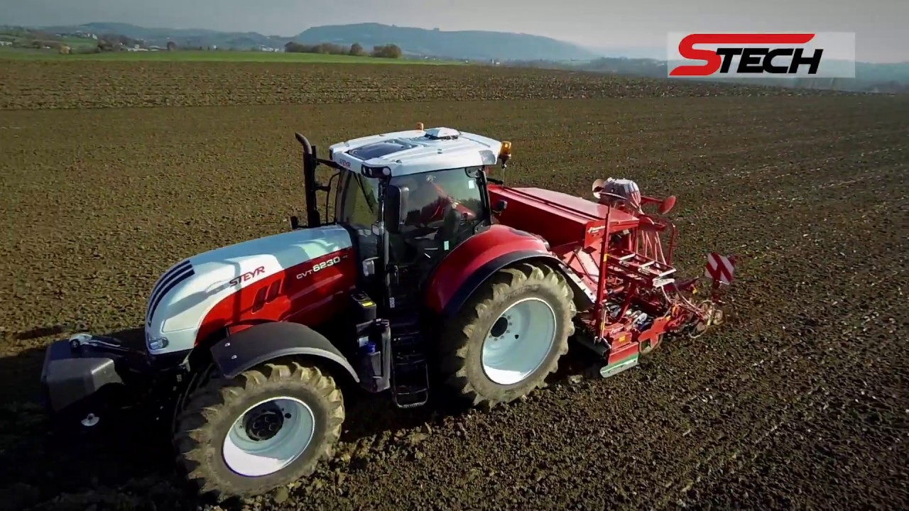 Steyr tractors   Stech   The Machinery channel - YouTube